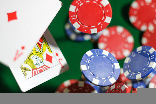 Poker Chips, Cards, Poker, Blackjack