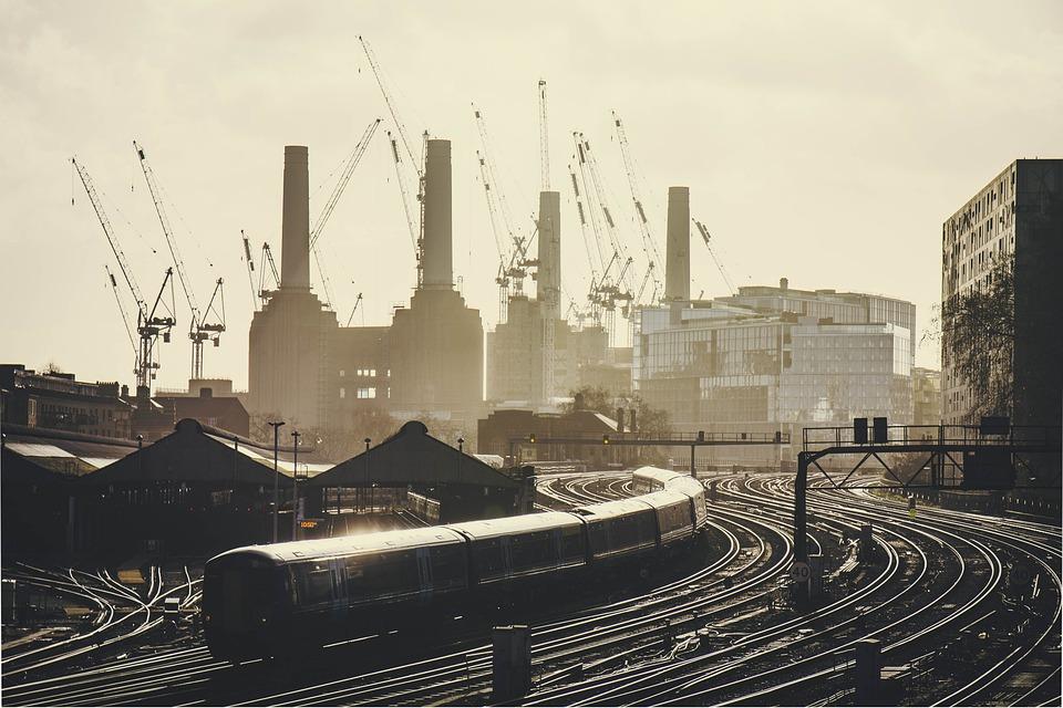 Pociąg, Kolejowe, Stacji, Dworzec Kolejowy