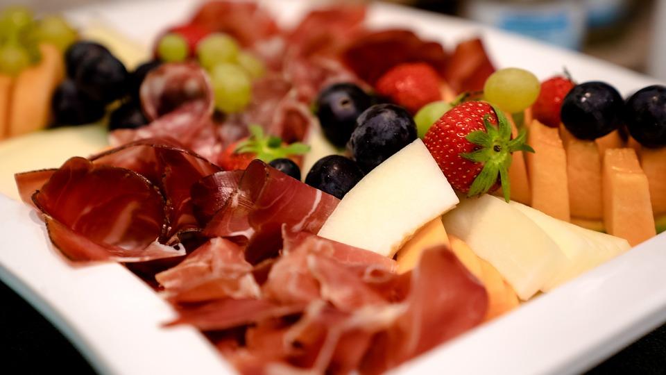 Cibo, Piatto, Antipasto, Pasto, Ham, Starter