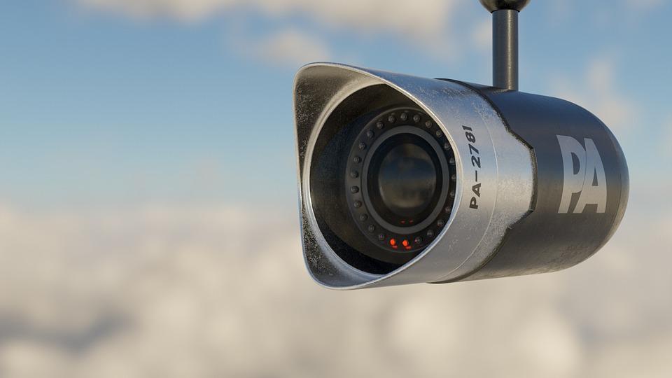 Bewakingscamera, Beveiligingscamera, Camera