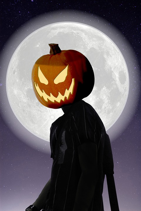 Zucca Halloween Luna Chiaro Di - Immagini gratis su Pixabay