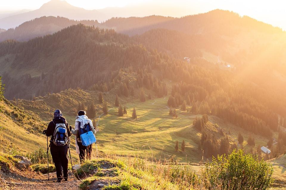 Horolezci, Hory, Chodník, Horolezectvo, Údolie