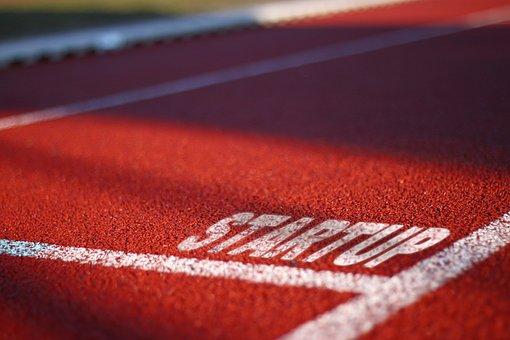 Track, Lane, Runner, Start Up, Race