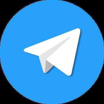 Telegram, App, Logo, Icon, Application