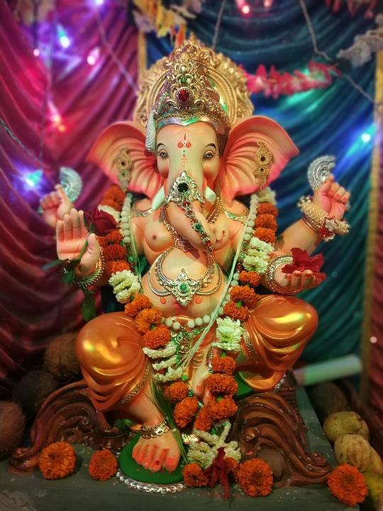 Ganpati Lighting Decoration