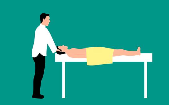 Massage, Thérapeute