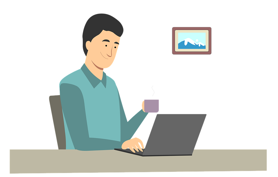 Man, Work, Work From Home, Avatar, Male, Guy