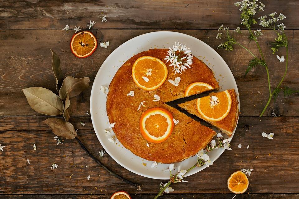 Orange cake atau kue jeruk (Pixabay.com)