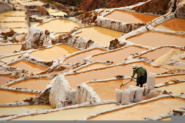 Salinas Salines Maras Peru Cuzco