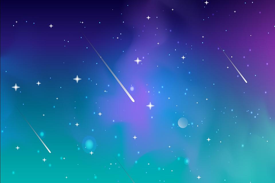 星, 空, コスモス, 銀河, 流れ星, 彗星, 宇宙, 空間芸術, デザイン, テンプレート, 壁紙, 背景