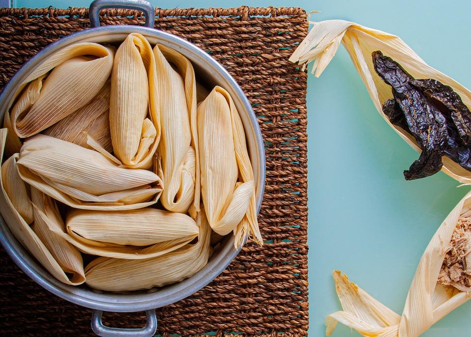 Tamales, Los Alimentos, Plato, Cocido, Merienda