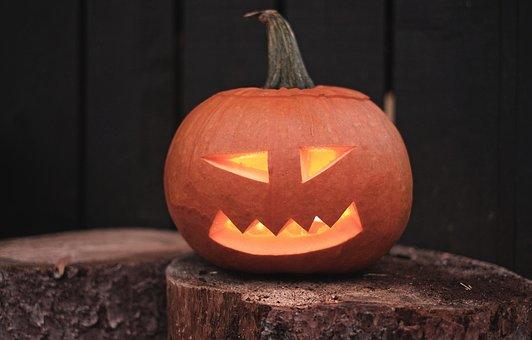 Halloween, Pumpkin, Jack-O-Lantern