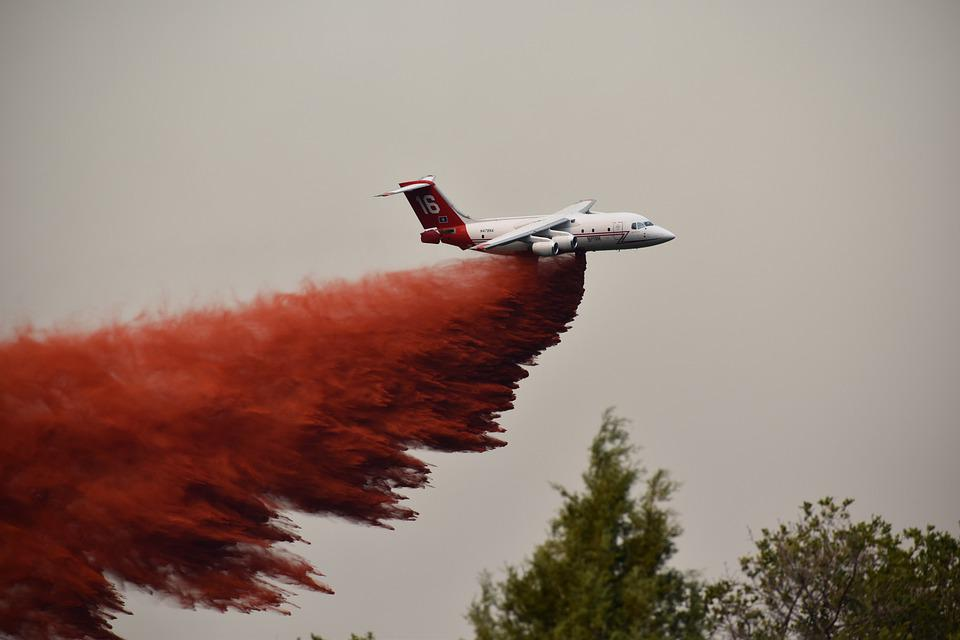Aircraft, Airplane, Jet, Fire Fighting