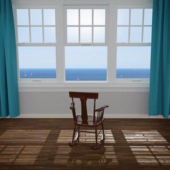 Titulaire De La Chaire, Fenêtre, Océan
