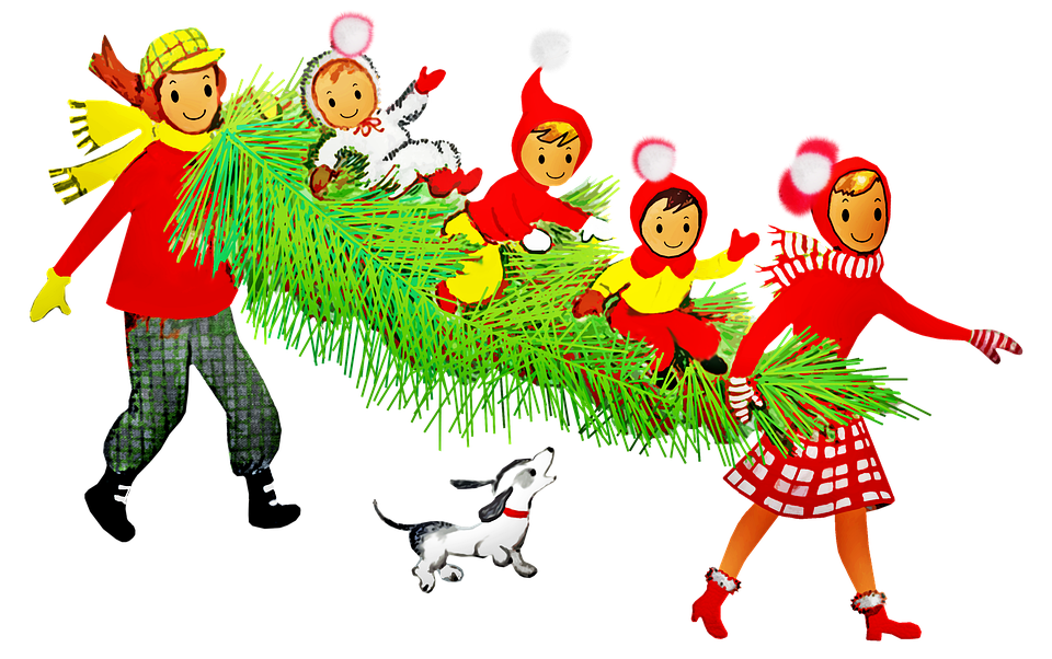 Family Dog Christmas Tree Free Image On Pixabay The head models has simple morphing animation of talking and. family dog christmas tree free image