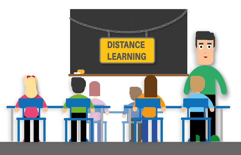 distance learning during COVID