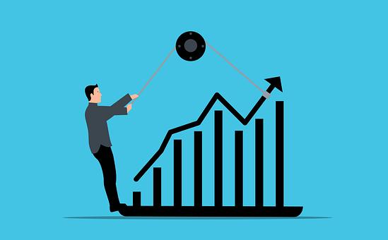 Chart, Effort, Success, Business, Man