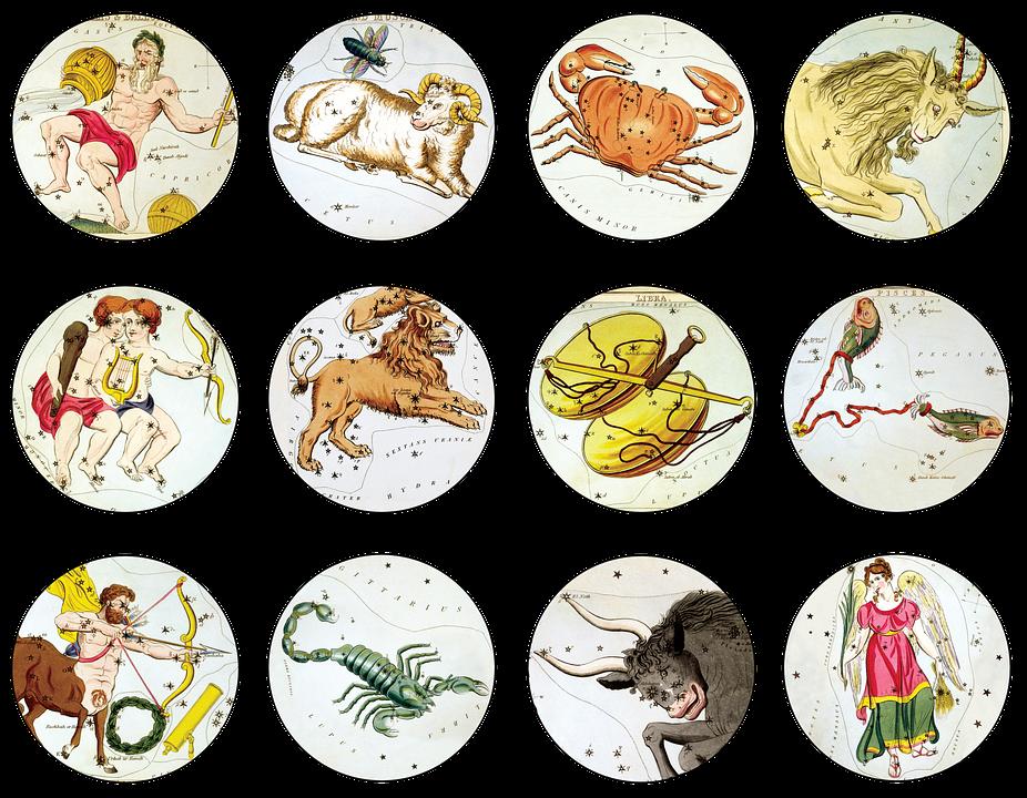 Zodiac, Signs, Symbols, Zodiac Signs, Astrology