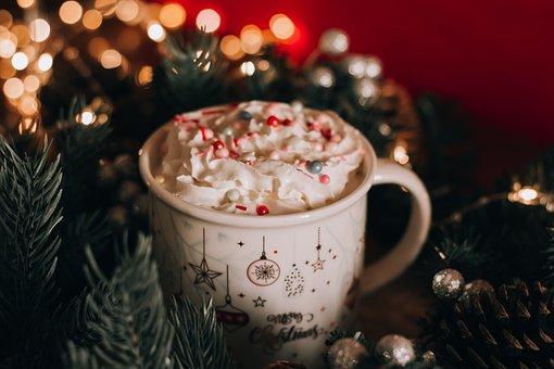 Cup, Drink, Dessert, Sweet, Christmas