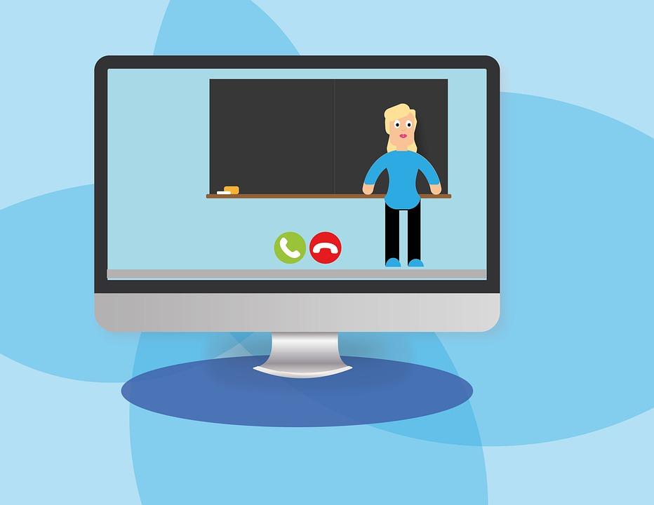 E Learning, Video Conference, Homeschooling, Webinar