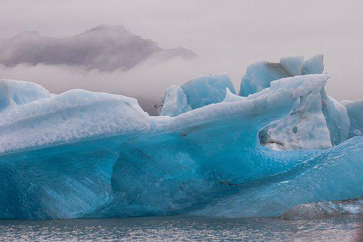 Glacier, Iceberg, Lake, Water, Cold