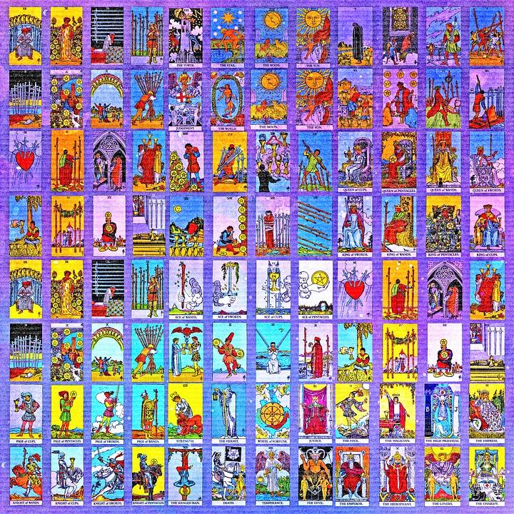 Tarot Kortit, Tarot, Fortune, Kuvio, Tausta