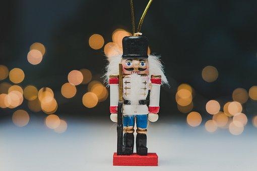 Nutcracker, Toy, Figurine, Christmas