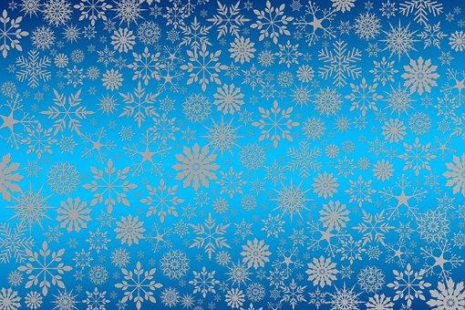Snowflakes, Christmas, Winter, Stars