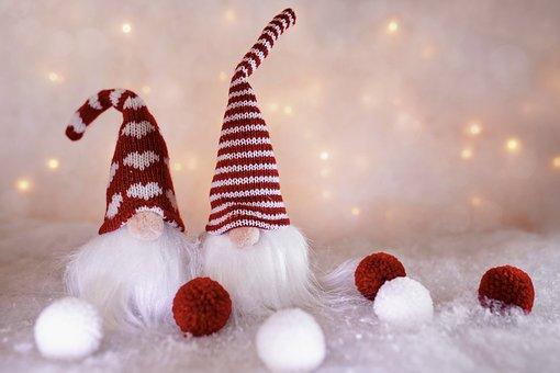 Elves, Gnomes, Christmas