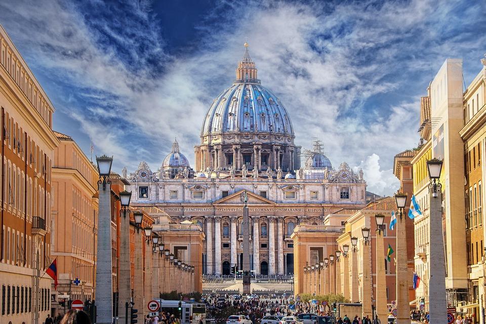 Rome, Bazyliki Świętego Piotra, Vatican, Watykan