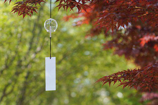 Furin, Wind Chime, Hanging