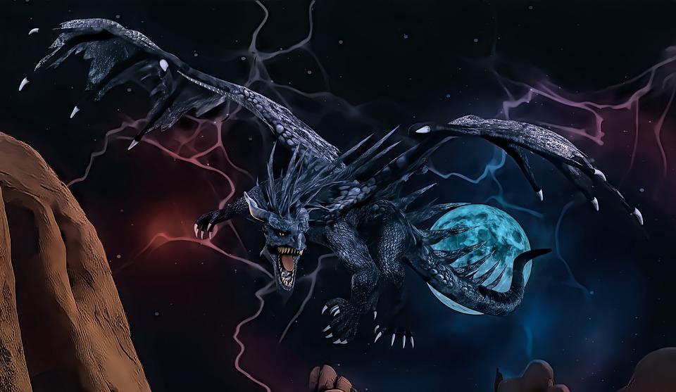 lightning dragon look