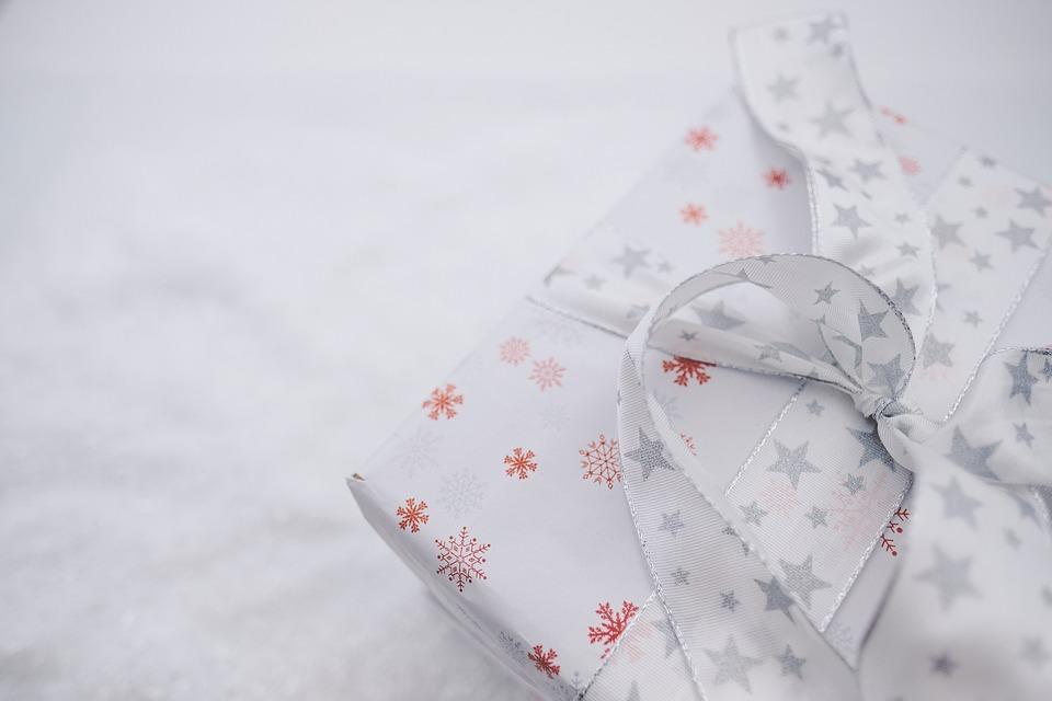 Gift, Box, Loop, Band, Surprise, Christmas