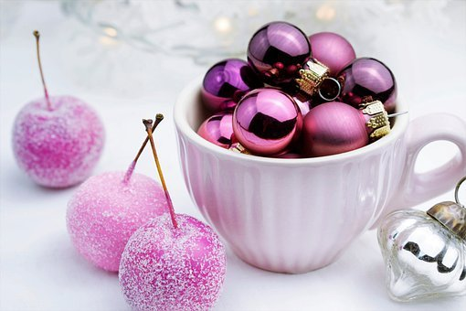 Ornaments, Cup, Christmas, Advent