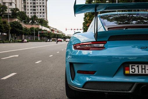 Porsche 911 Gt2, Sports Car, Road