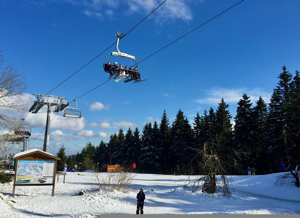 Ski Lift, Snow, Ski Resort, Transport, Transportation