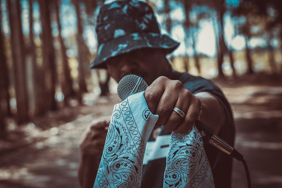 Microphone, Musician, Raper, Hip-Hop, Rap Music, Street