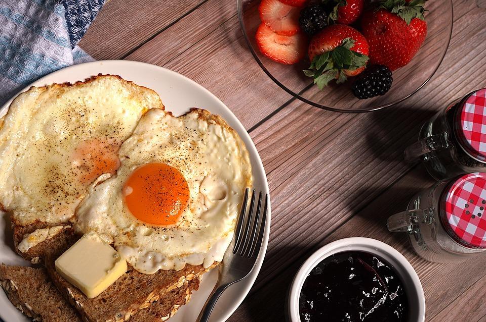 Uova, Prima Colazione, Cibo, Toast, Pane, Pasto