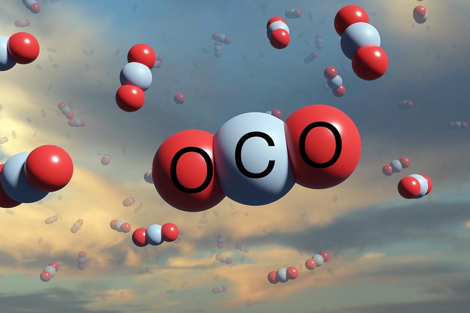 球, 二酸化炭素, 雲, Co2, 空気, 環境, 排出量, 球形モデル, 雰囲気