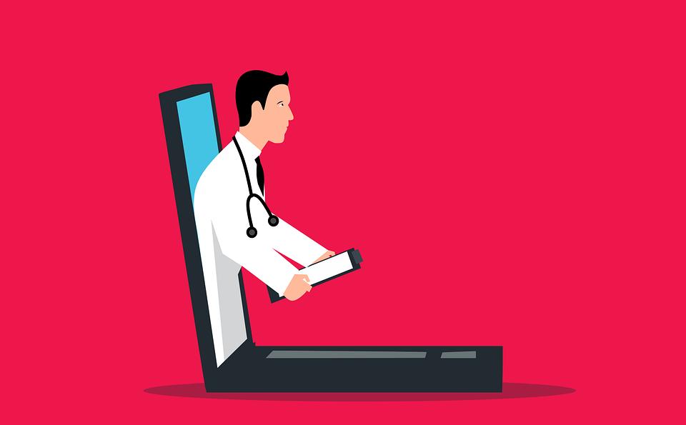 Doctor, Laptop, Consultation, Online, Medical, Chat