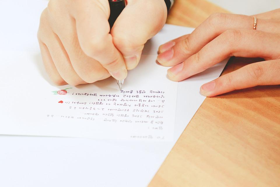 Surat, Menulis, Pensil, Pulpen, Kertas, Catatan, Salam