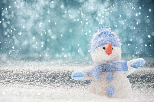 Lumiukko, Snow, Hattu, Huivi