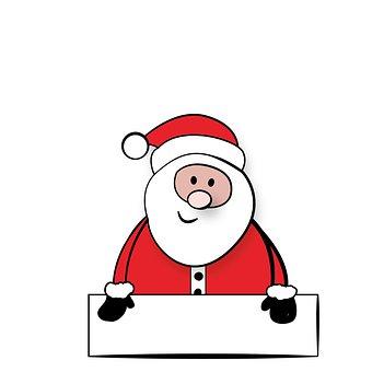 Santa Claus, Nicholas, Sign, Shield
