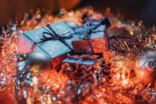 Christmas, Gifts, Presents