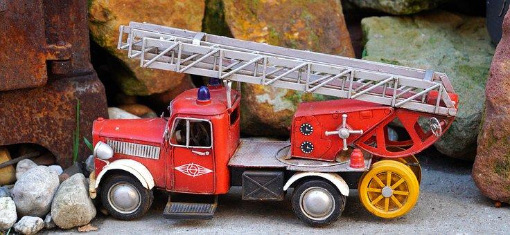 Jouets, Camion De Pompier, Véhicule