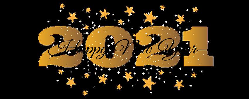 Neujahr, Silvester, Sterne, 2021, Urlaub
