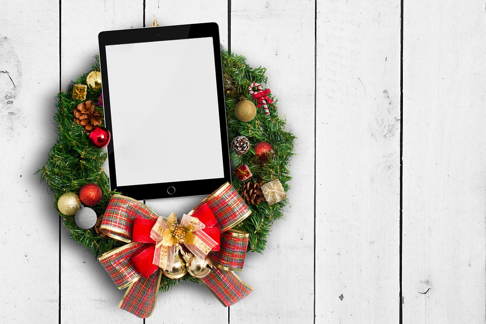 Advent Wreath, Ipad, Christmas, Wreath, Decoration
