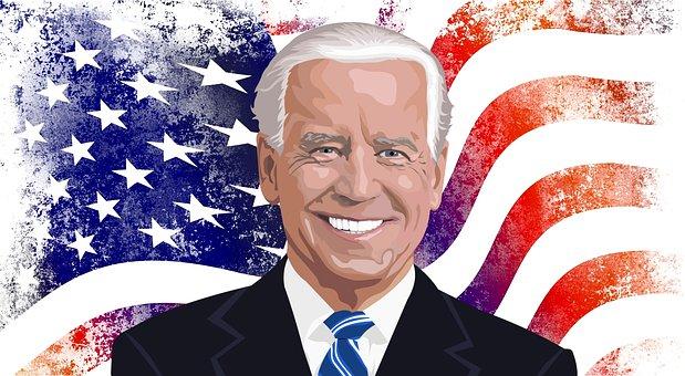 Joe Biden, President, American Flag