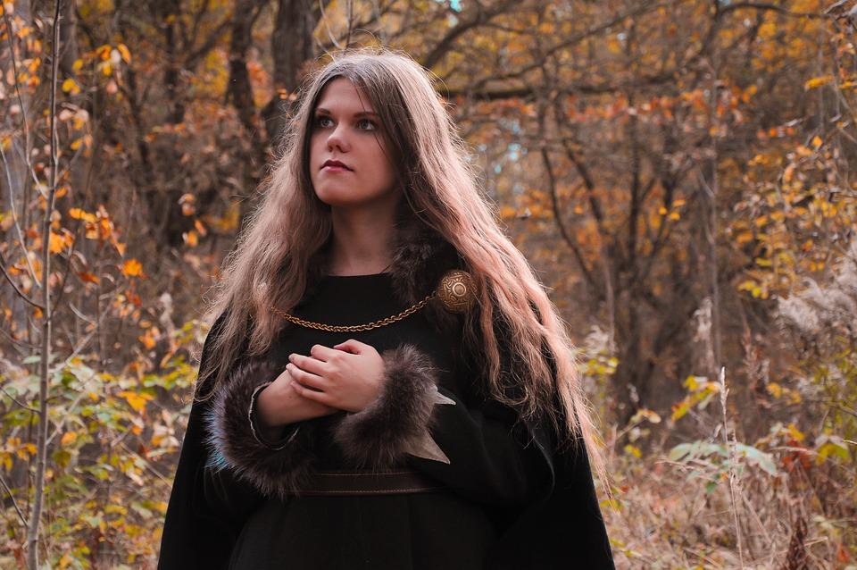 Woman, Dress, Gothic, Ritual, Witch, Fantasy, Magic