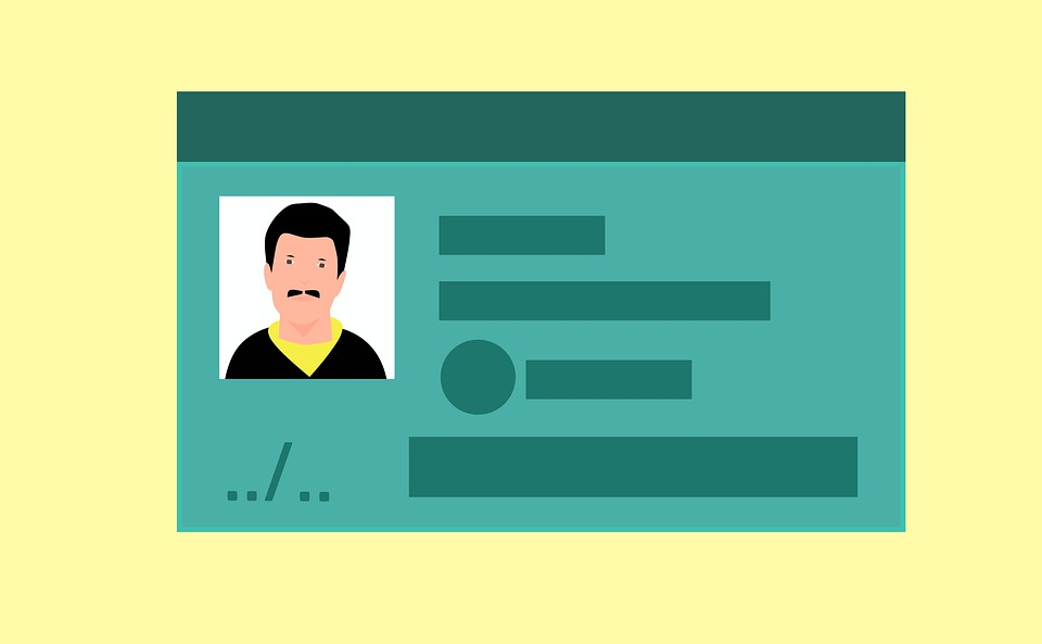 Business, Id, Driving License, Personal Identity
